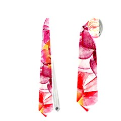 Colorful Succulents Neckties (one Side)