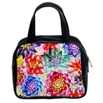 Colorful Succulents Classic Handbags (2 Sides) Front