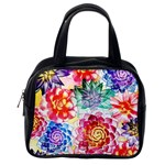 Colorful Succulents Classic Handbags (2 Sides) Back