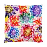Colorful Succulents Standard Cushion Case (One Side) Front
