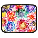 Colorful Succulents Netbook Case (XL)  Front