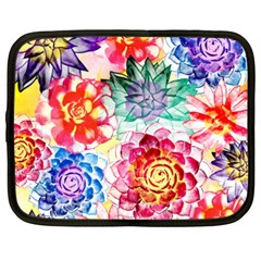 Colorful Succulents Netbook Case (xxl)