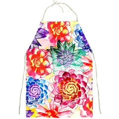 Colorful Succulents Full Print Aprons