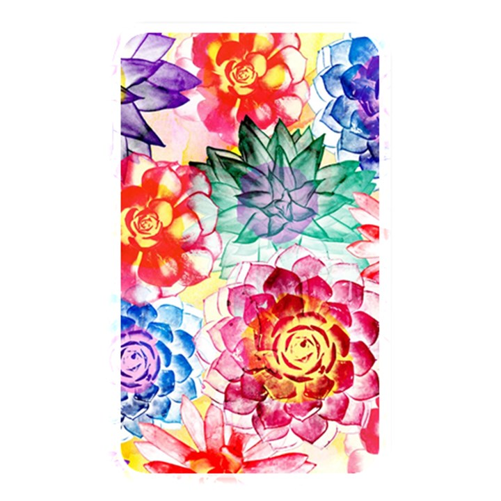 Colorful Succulents Memory Card Reader