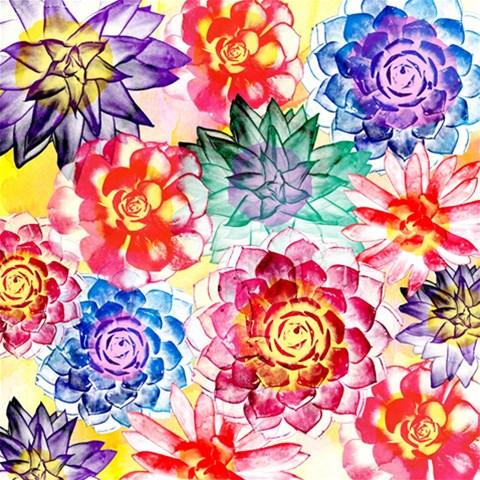 Colorful Succulents Magic Photo Cubes