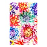 Colorful Succulents Shower Curtain 48  x 72  (Small)  42.18 x64.8 Curtain