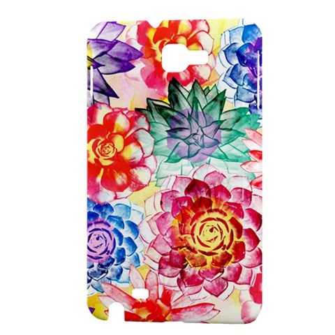 Colorful Succulents Samsung Galaxy Note 1 Hardshell Case