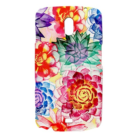 Colorful Succulents Samsung Galaxy Nexus i9250 Hardshell Case