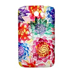 Colorful Succulents HTC ChaCha / HTC Status Hardshell Case