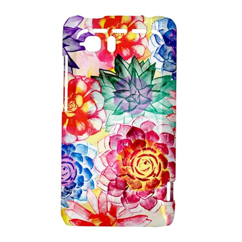 Colorful Succulents HTC Vivid / Raider 4G Hardshell Case