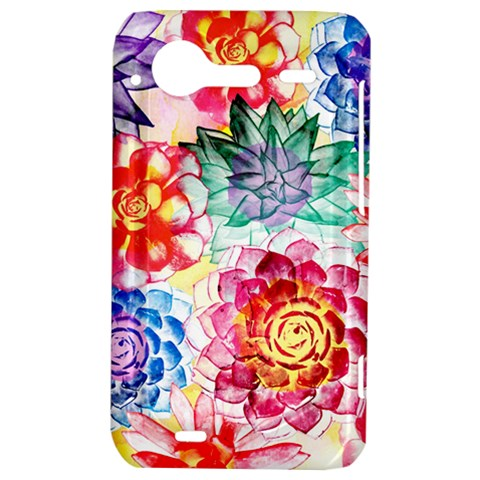 Colorful Succulents HTC Incredible S Hardshell Case