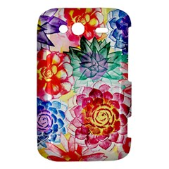 Colorful Succulents HTC Wildfire S A510e Hardshell Case