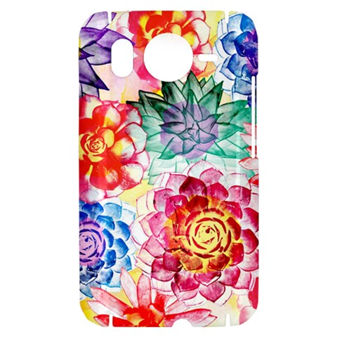 Colorful Succulents HTC Desire HD Hardshell Case