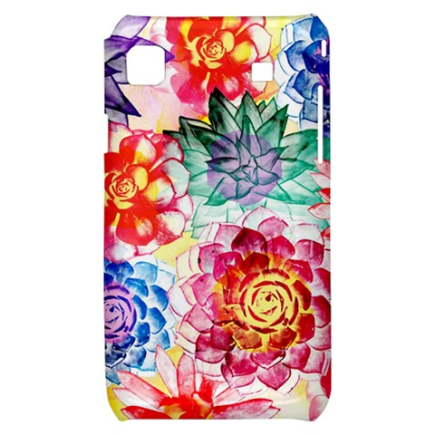 Colorful Succulents Samsung Galaxy S i9000 Hardshell Case