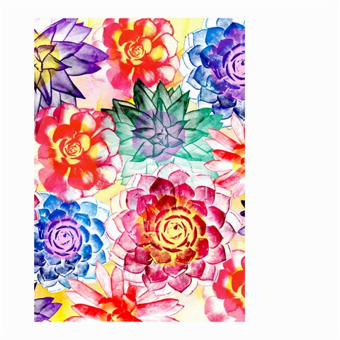 Colorful Succulents Small Garden Flag (Two Sides)