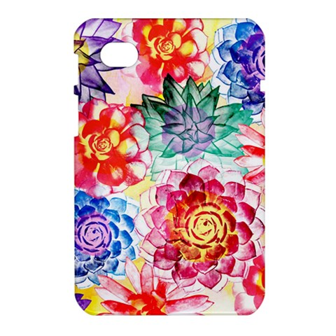 Colorful Succulents Samsung Galaxy Tab 7  P1000 Hardshell Case