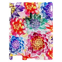 Colorful Succulents Apple iPad 2 Hardshell Case