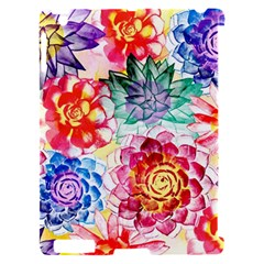 Colorful Succulents Apple iPad 2 Hardshell Case (Compatible with Smart Cover)