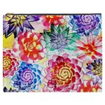 Colorful Succulents Cosmetic Bag (XXXL)  Front