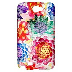 Colorful Succulents Samsung Galaxy Note 2 Hardshell Case