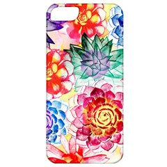 Colorful Succulents Apple Iphone 5 Classic Hardshell Case