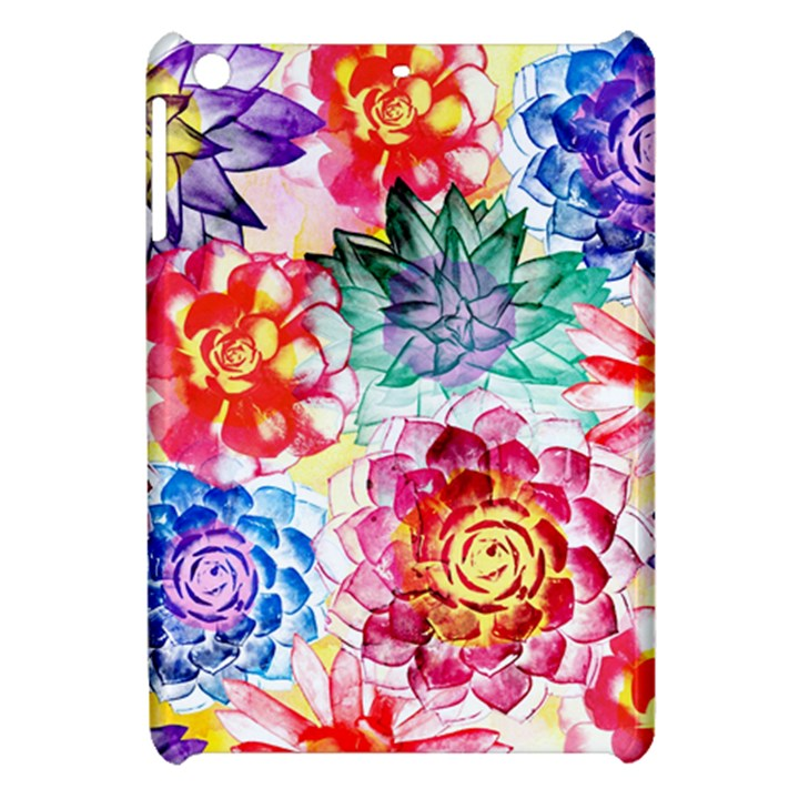 Colorful Succulents Apple iPad Mini Hardshell Case