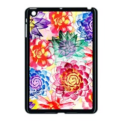 Colorful Succulents Apple iPad Mini Case (Black)