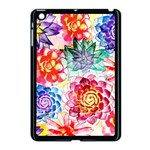 Colorful Succulents Apple iPad Mini Case (Black) Front
