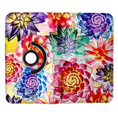 Colorful Succulents Samsung Galaxy Note II Flip 360 Case