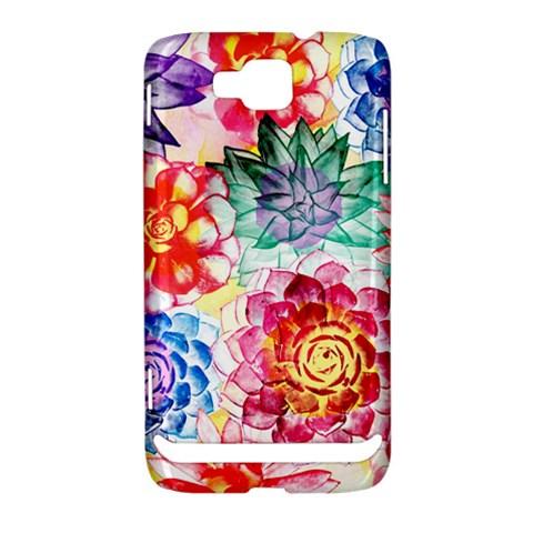 Colorful Succulents Samsung Ativ S i8750 Hardshell Case