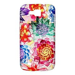 Colorful Succulents Samsung Galaxy Premier I9260 Hardshell Case