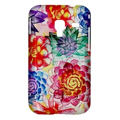Colorful Succulents Samsung Galaxy Ace Plus S7500 Hardshell Case