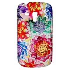 Colorful Succulents Samsung Galaxy S3 Mini I8190 Hardshell Case