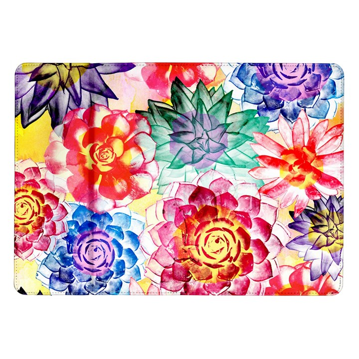 Colorful Succulents Samsung Galaxy Tab 10.1  P7500 Flip Case