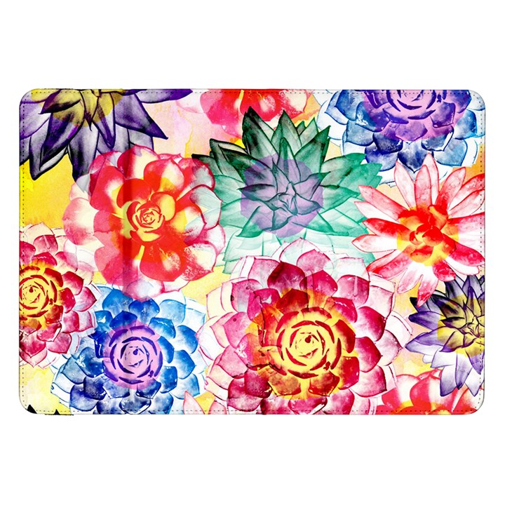 Colorful Succulents Samsung Galaxy Tab 8.9  P7300 Flip Case