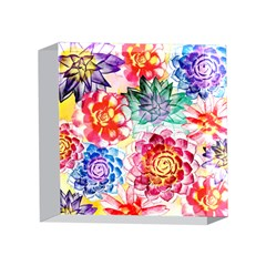Colorful Succulents 4 x 4  Acrylic Photo Blocks
