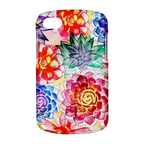 Colorful Succulents BlackBerry Q10