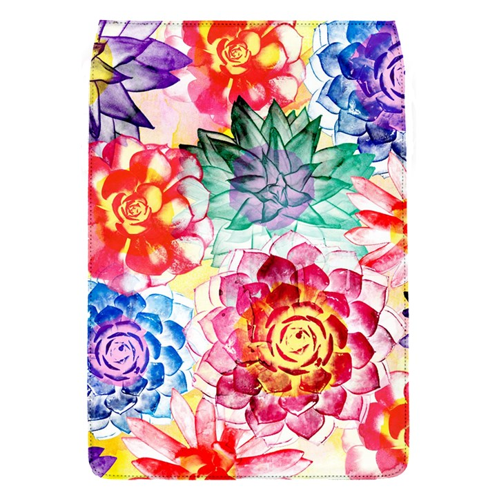 Colorful Succulents Flap Covers (S)