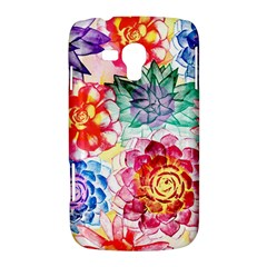 Colorful Succulents Samsung Galaxy Duos I8262 Hardshell Case