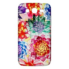 Colorful Succulents Samsung Galaxy Mega 5.8 I9152 Hardshell Case