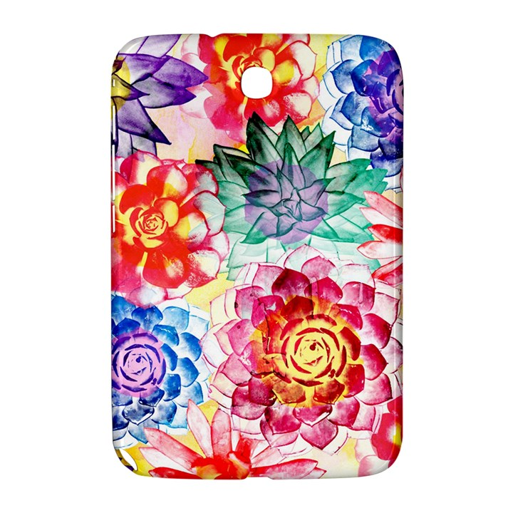 Colorful Succulents Samsung Galaxy Note 8.0 N5100 Hardshell Case