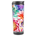 Colorful Succulents Travel Tumbler Right