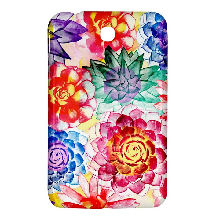 Colorful Succulents Samsung Galaxy Tab 3 (7 ) P3200 Hardshell Case