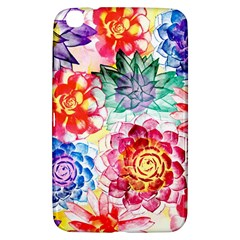 Colorful Succulents Samsung Galaxy Tab 3 (8 ) T3100 Hardshell Case