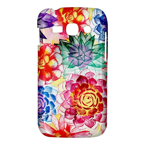 Colorful Succulents Samsung Galaxy Ace 3 S7272 Hardshell Case