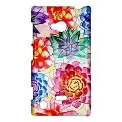 Colorful Succulents Nokia Lumia 720