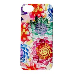 Colorful Succulents Apple iPhone 5S/ SE Hardshell Case