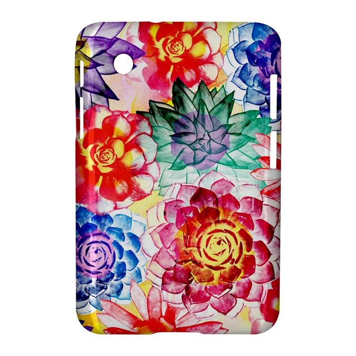 Colorful Succulents Samsung Galaxy Tab 2 (7 ) P3100 Hardshell Case