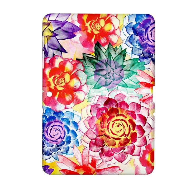 Colorful Succulents Samsung Galaxy Tab 2 (10.1 ) P5100 Hardshell Case