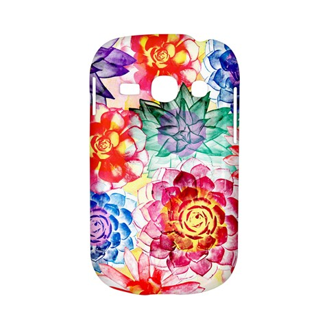Colorful Succulents Samsung Galaxy S6810 Hardshell Case